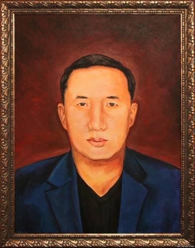 Портрет мужчины. Алматы.